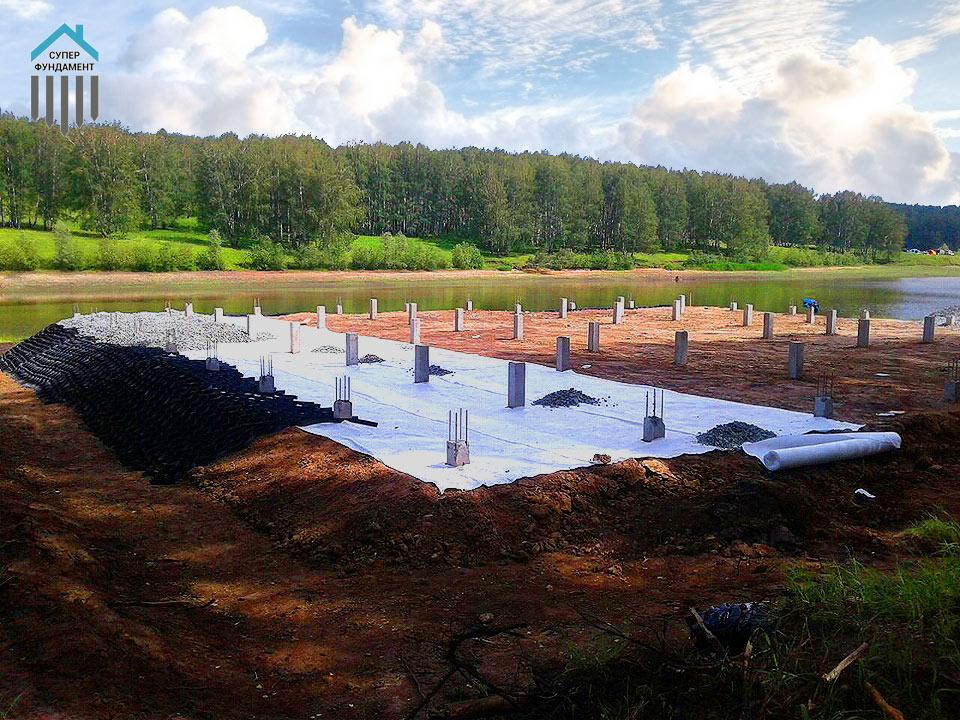 стоимость бетонных свай для фундамента